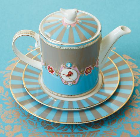 Klimt porcelán bögrék
