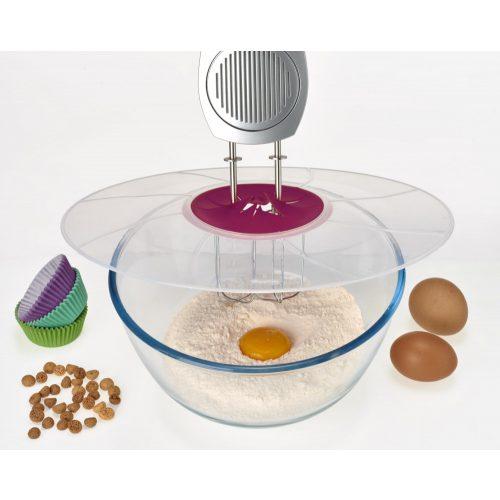MüanyagFröccsenésgátló habverőhöz 32cm, konyha, sütés,