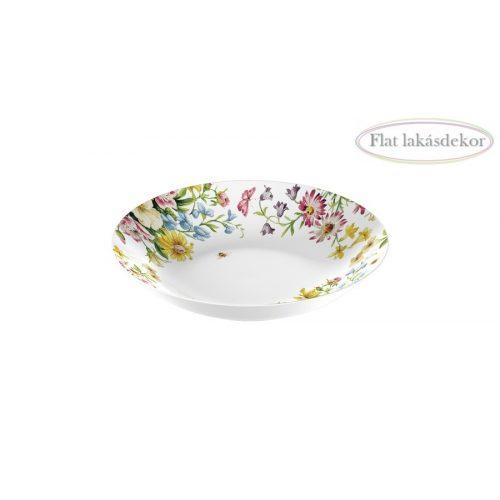 Porcelán pasta tányér 205x45x205mm, English Garden,Katie Alice, Étkészlet, lakásdekoráció, ajándék