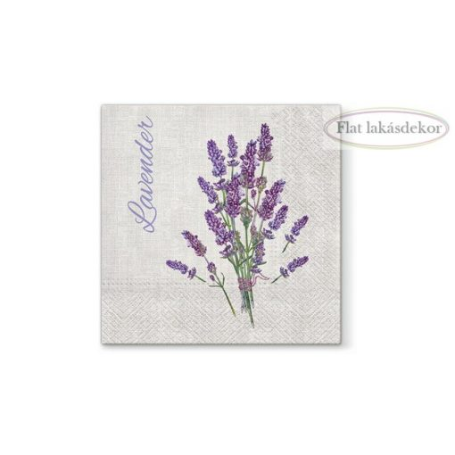 Lavender for You papírszalvéta 33x33cm, 20db-os